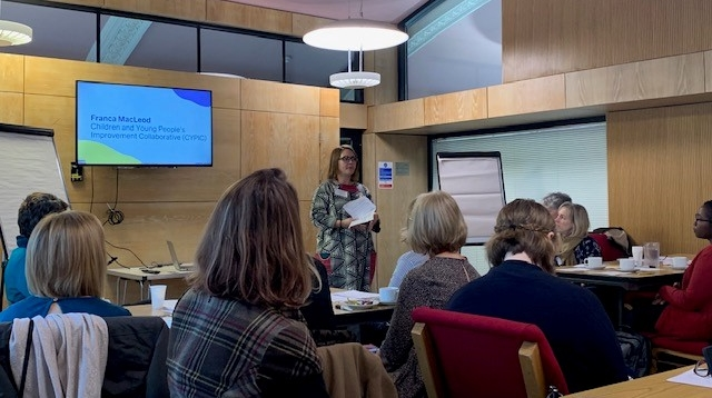 Franca Macleaod Children and Young People's Improvement Collaborative presents to the OutNav Community