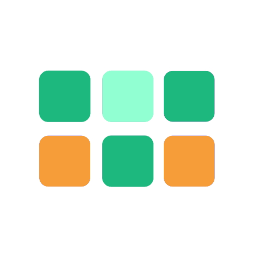 coloured blocks representing tract progress