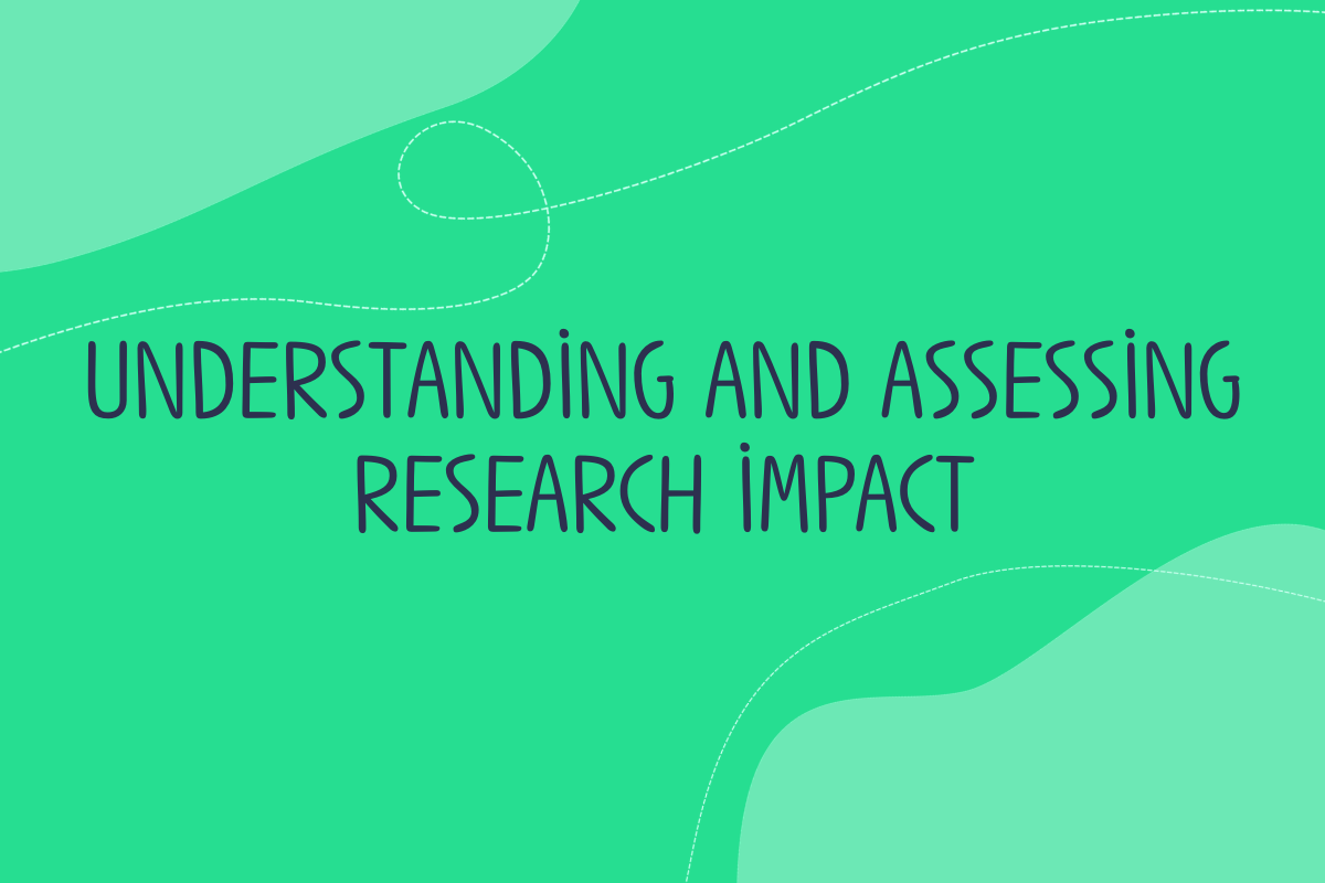 Text reads: Understanding and assessing research impact with Matter of Focus